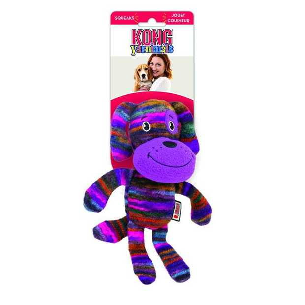 Your dog will love the KONG Dog Toy Yarnimals Dog for play time and cuddle time. This gorgeous plush...
