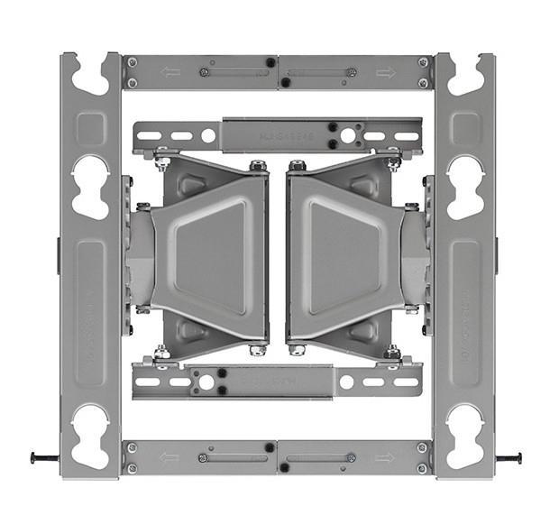 +/- 13° Vertical Adjustment +/- 15° Horizontal Adjustment Safety Locking Pins Levelling screws Mount...