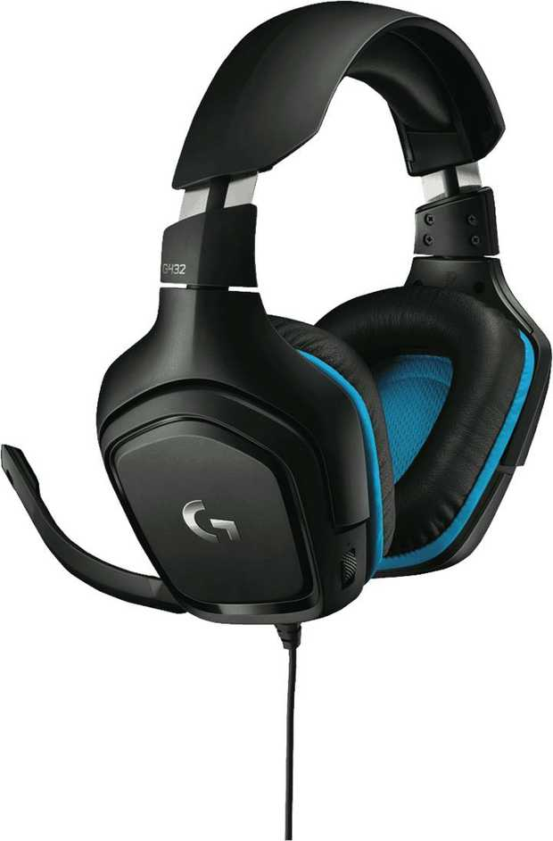 Logitech G432 7.1 Surround Sound Gaming Headset is enhanced with advanced soundscape technology. Hear...