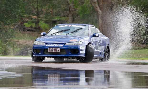 Test your driving ability with four fun driving lessons on how to control skidding.