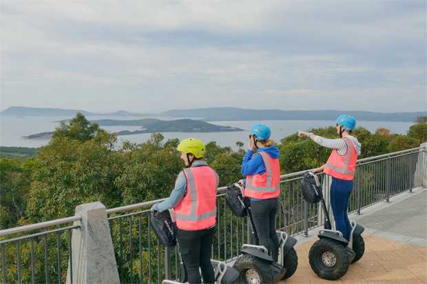 Trekking across historical sights, parks and walkways has never been easier. Just hop on a Segway and...