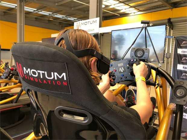 Virtual Reality Racing Experience - 30 Minute Simulator