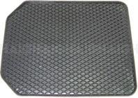 Heavy duty premium rubber construction with patterned surface and nibbed back. Universal fitment. Size:...