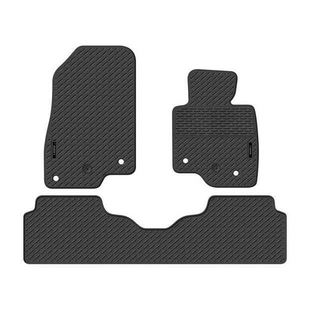 Precision Fit Rubber Car Mats To Suit Mazda 3 Hatch Bm Series 02/2014-OnwardsOur range of Car mats...