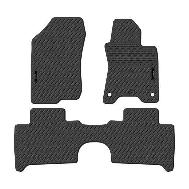 Precision Fit Rubber Car Mats To Suit Nissan Navara Dual Cab Np300/D23 Series 11/2015-OnwardsOur range...