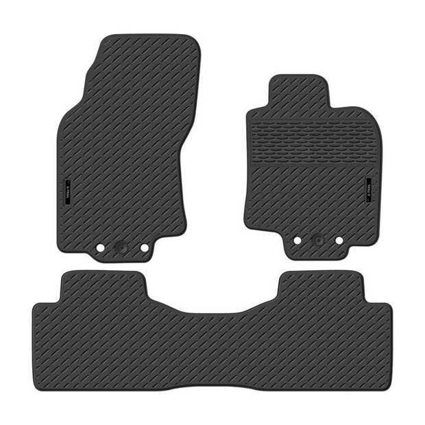Precision Fit Rubber Car Mats To Suit Nissan X-Trail Suv T23 Series 08/2014-OnwardsOur range of Car...