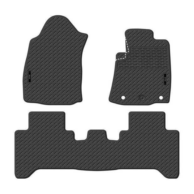 Precision Fit Rubber Car Mats To Suit Toyota Hilux Dual Cab Workmate/Sr/Sr5 08/2015-OnwardsOur range of...