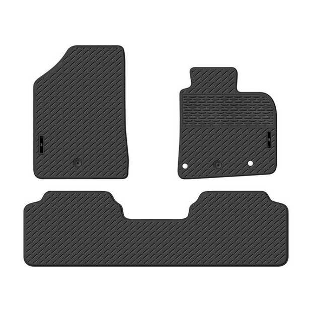 Precision Fit Rubber Car Mats To Suit Hyundai I30 Hatch Fd/Gd Series 05/2012-03/2017Our range of Car...