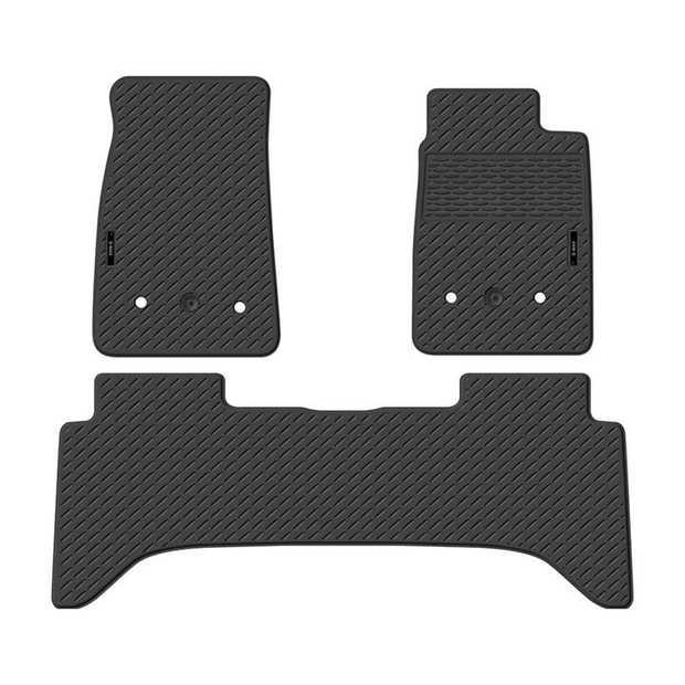 Precision Fit Rubber Car Mats To Suit Isuzu D-Max Dual Cab Ls-U/Ls-M/Sx/Ex 11/2013-OnwardsOur range of...