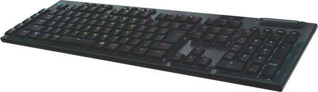Featuring LIGHTSPEED wireless technology, the Logitech G613 Wireless Mechanical Gaming Keyboard...
