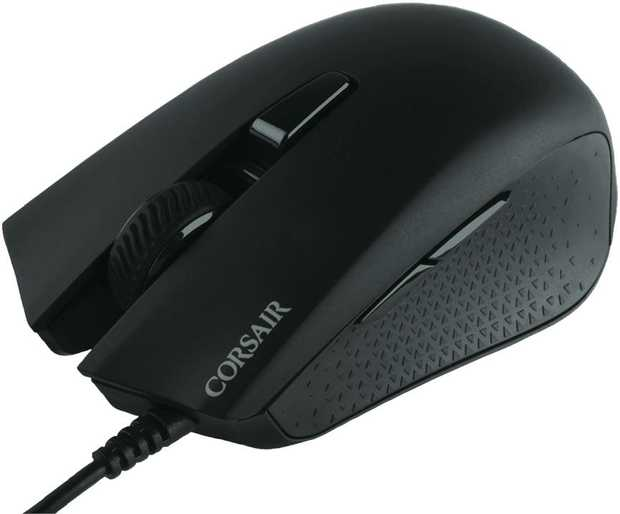 The CORSAIR HARPOON RGB WIRELESS gaming mouse lets you choose how to play, with the ability to easily...