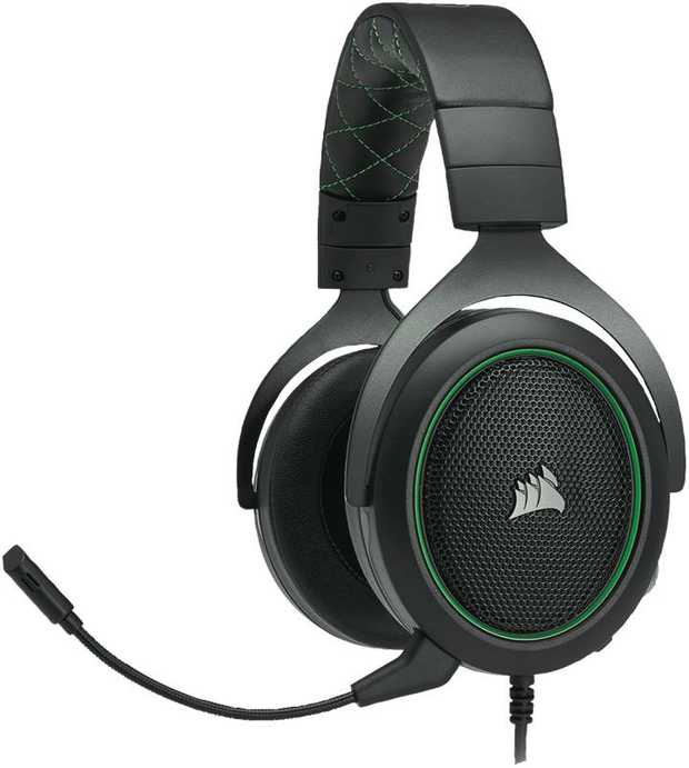 The CORSAIR HS50 Stereo Gaming Headsetprovides comfort for hours of gameplay with its comfortable...