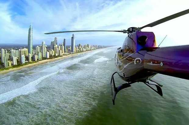 This flight is the best way to see the extensive man made canals and waterfront homes of the Gold...