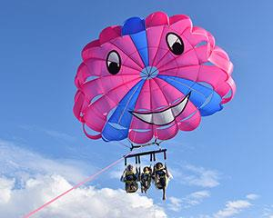 Calling all adrenaline junkies! Take on the Gold Coast's highest parasailing experience as you soar 350...