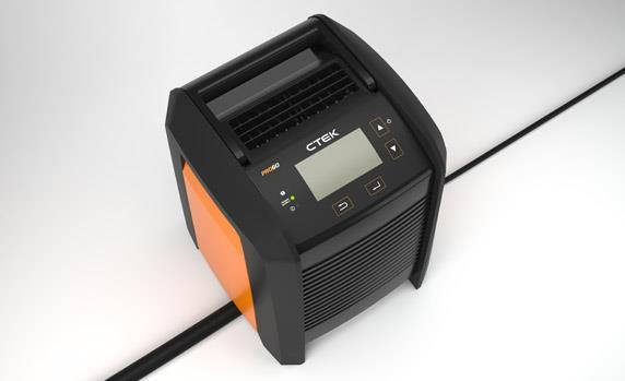 The PRO60 from CTEK is an innovative, versatile and highly efficient 60A battery charger and power...