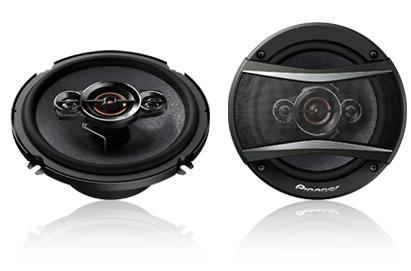 350 Watts Max Power (60 Watts Nominal) New Multilayer Mica Matrix Cone Design