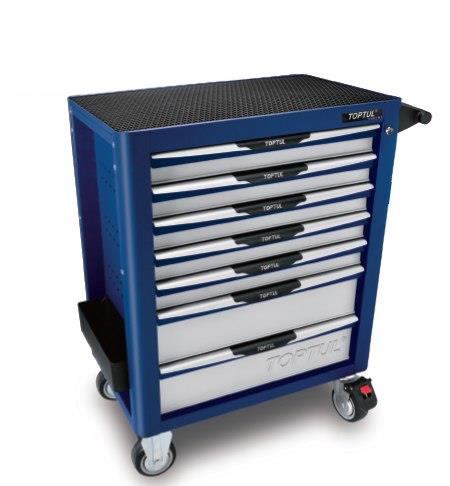 Toptul GE-28210 282Pcs Pro-Plus 7 Drawer Tool KIt - Satin Blue Specially assembled for AUDI and...