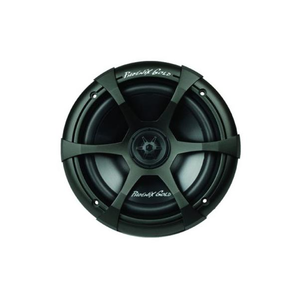 The Phoenix Gold SX coax system features a 20mm silk dome tweeter mounted in the mid-bass directly on...