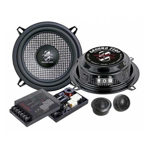 Radioactive Series 2-way Component Speakers Ultra-slim Driver (41mm) 90W RMS / 140W Max SPL 90db - 4...