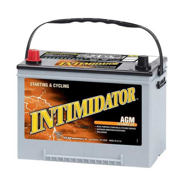 9A34 Deka Intimidator fast charge AGM BatteryNote: N50ZSpecification:CCA775Ah C2055RC @25min120Weight...