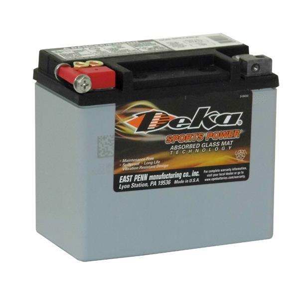 ETX12 Deka Power Sports AGM BatteryNote: YTX12-BS/ B-B2Specification:CCA180Ah C2010RC @25min4.3Weight...