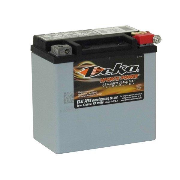 ETX14L Deka Power Sports AGM BatteryNote: YS12-14LBSSpecification:CCA220Ah C2012RC @25min5.4Weight...