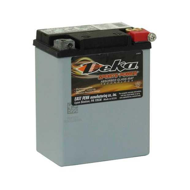 ETX15L Deka Power Sports AGM BatteryNote: YB14L-A1Specification:CCA220Ah C2014RC @25min6.5Weight Kg6.5L...