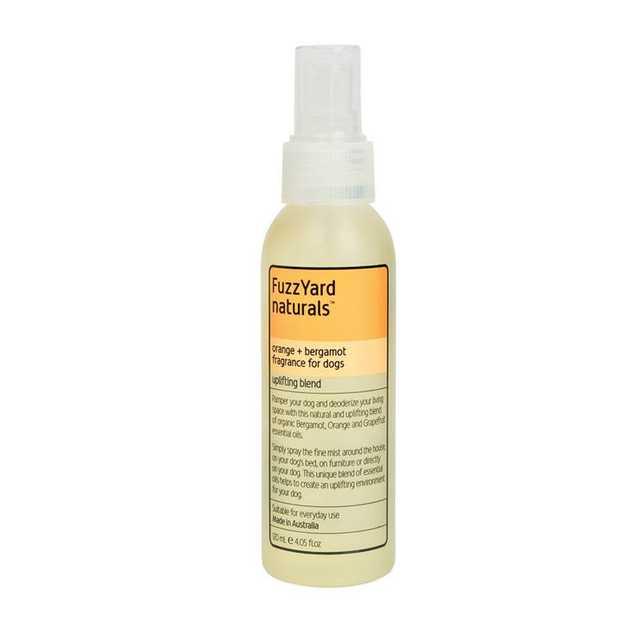 Fuzzyard Orange & Bergamot Uplifting Spray for Dogs 120ml