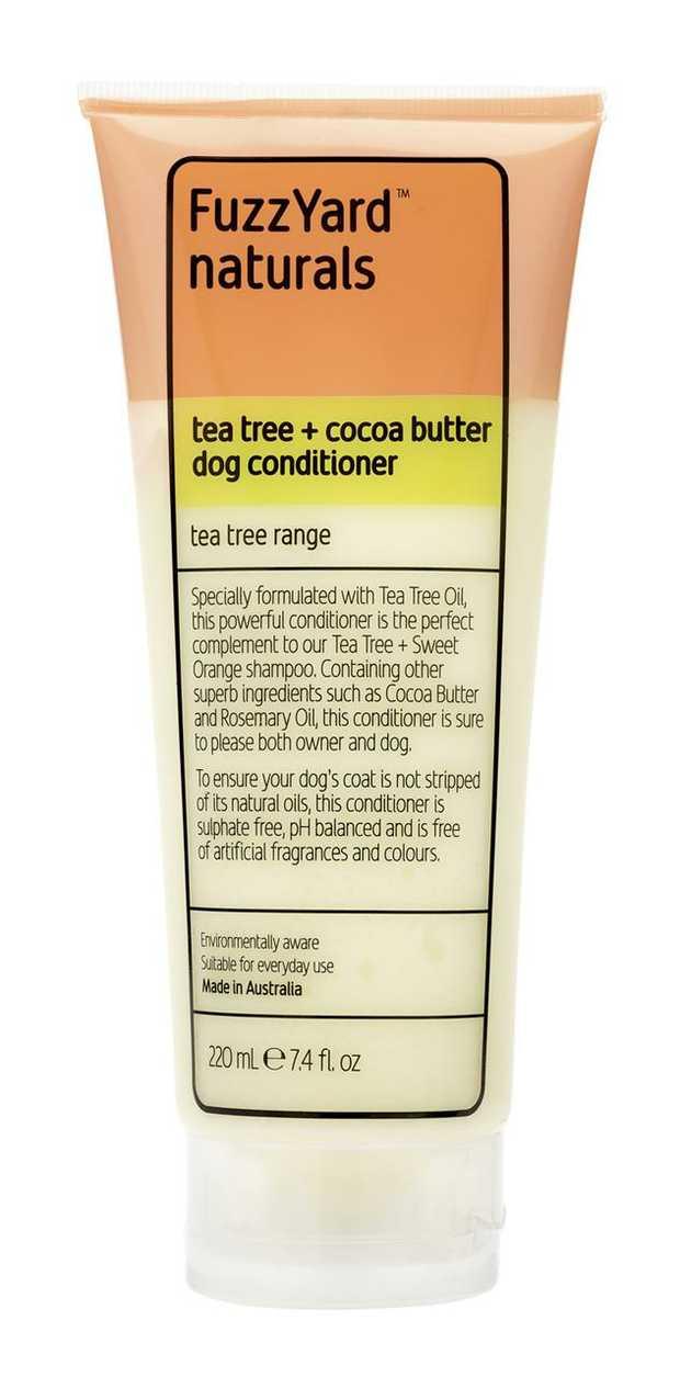 Fuzzyard Tea Tree & Cocoa Butter Conditioner for Dogs 220ml