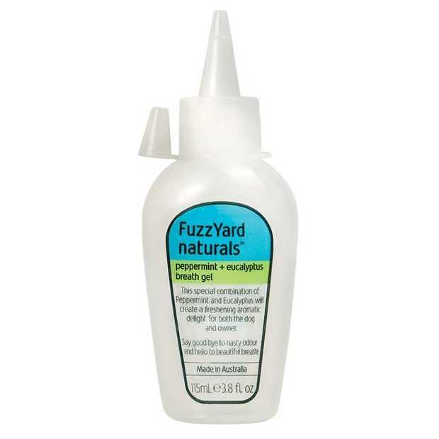 Fuzzyard Peppermint & Eucalyptus Fresh Breath Gel for Dogs 115ml