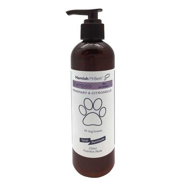 Hamish McBeth General Purpose Dog Shampoo with Rosemary & Citronella 250mL