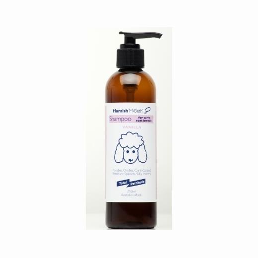 Hamish McBeth Dog Shampoo for OOdles & Curly Coated Breeds 250mL