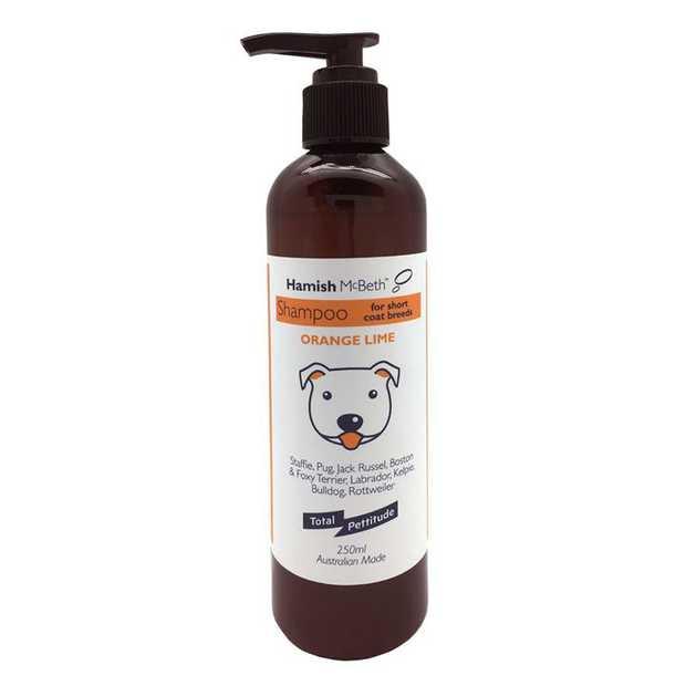 Hamish McBeth Dog Shampoo for Staffies and Short Coated Breeds - 250mL
