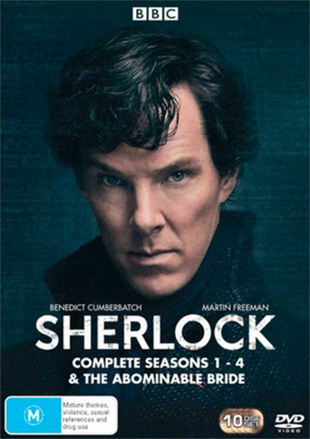 Sherlock Seasons 1 - 4 And The Abominable Bride DVD         Let your...