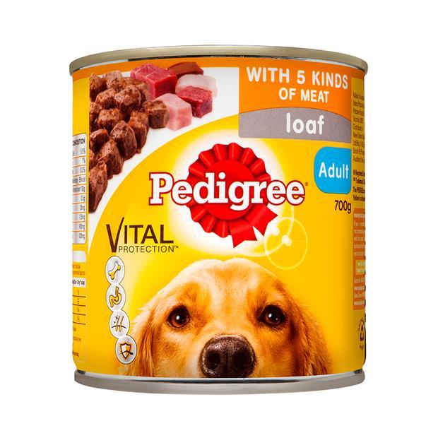 pedigree 5 meats loaf cans  12 x 1.2kg | Pedigree dog food | pet supplies| Product Information:...