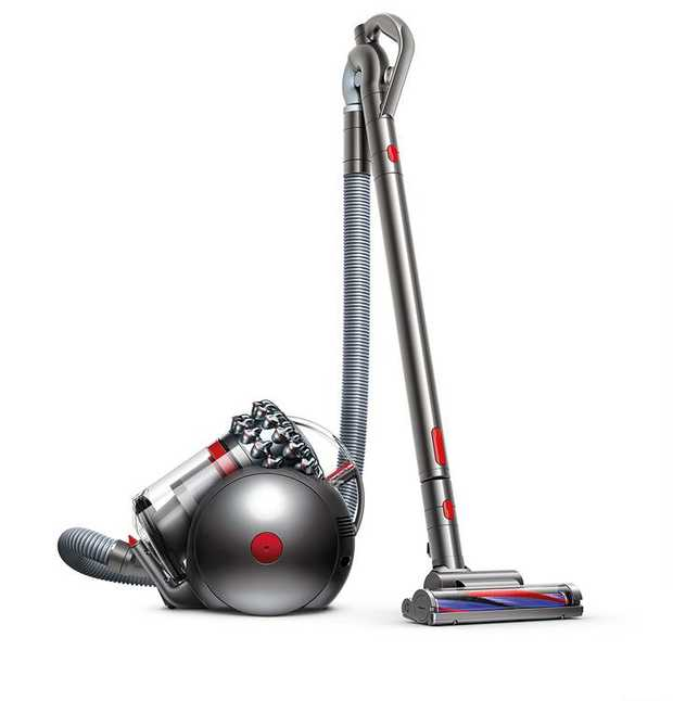 1.6L high-capacity bin Dyson Cinetic science Dyson's most powerful barrel vacuum Engineered for...