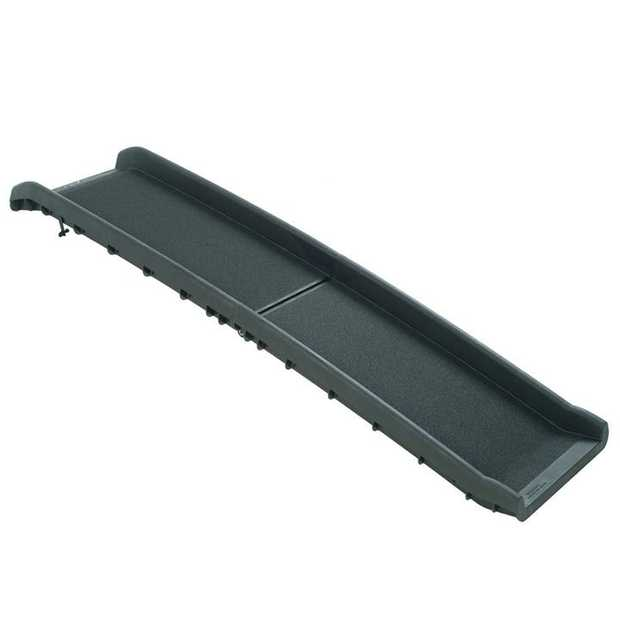 Solvit Ultralite Bi-Fold Pet Ramp for Dogs up to 91kg - Extends to 1.57m
