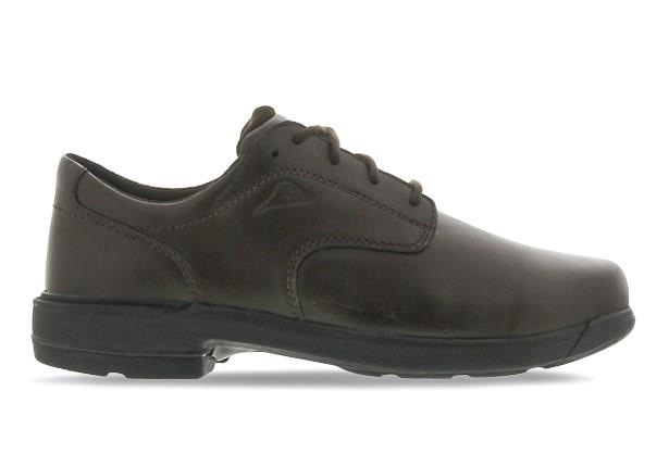 The Ascent Kids Scholar (D) Brown is a traditional & highly durable black leather school shoe from...