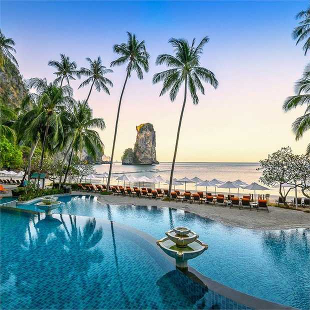 Find the perfect way to relax at Centara Grand Beach Resort & Villas Krabi, a unique beachfront...