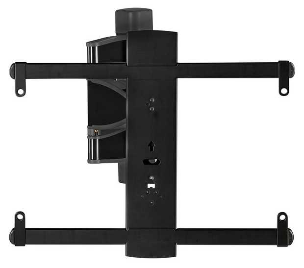 """Fits most TVs from 32"""" to 55"""" Up to 55 lbs. / 24.95kg capacity Up to 15º of tilt 60º swivel left to..."""