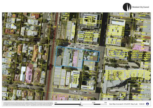 Moreland City Council is proposing to name a new park at 1-11 West Street and 29-31 Breese...