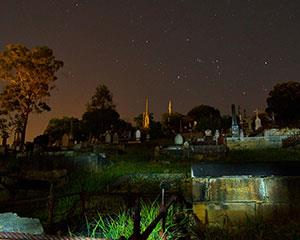 Spread over the hills of Toowong Cemetery are tens of thousands of gravestones, tombs and crypts. There...