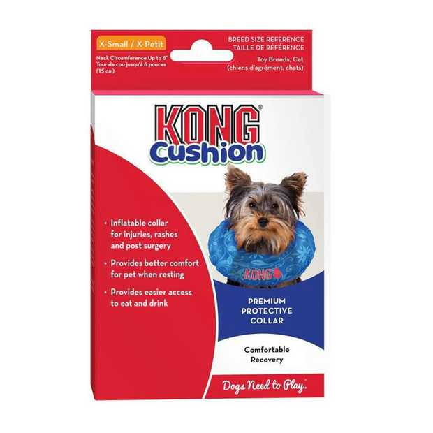 Make recovery time more comfortable and pleasant for your pet with the KONG Dog Cushion Recovery...