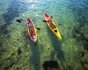 Shoal Bay offers a safe kayaking experience within stunning scenery, and majestic Mt Tomaree in it's...