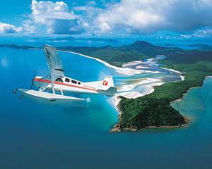 View the majesty of the Great Barrier Reef from air as you are flown by seaplane to an exclusive reef...