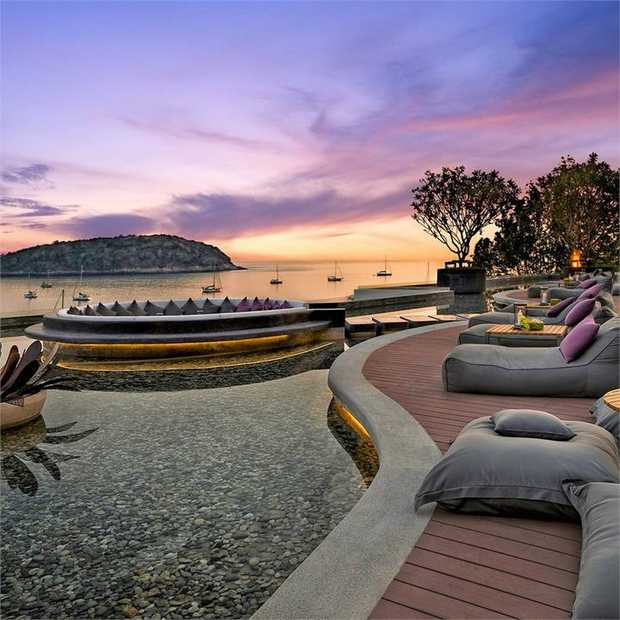 Treat yourself to a celebrity-style holiday at the five-star The Nai Harn Phuket, ranked in the top 20...