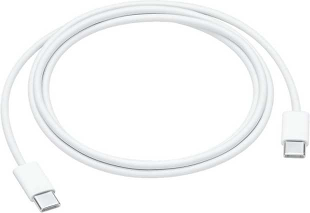 This 1-metre charging cable  with USB-C connectors on both ends  is ideal for charging, syncing and...