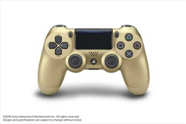 Dualshock 4 Controller GoldThe Dualshock 4 controller offers gamers completely new ways to play and...