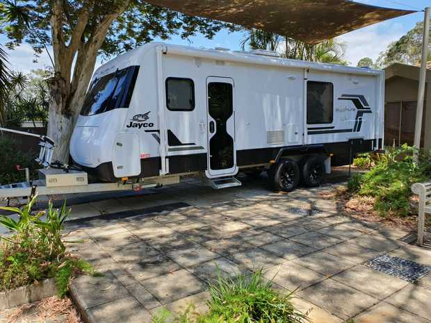JAYCO SILVERLINE 2017 OUTBACK 24.75.2 MODEL