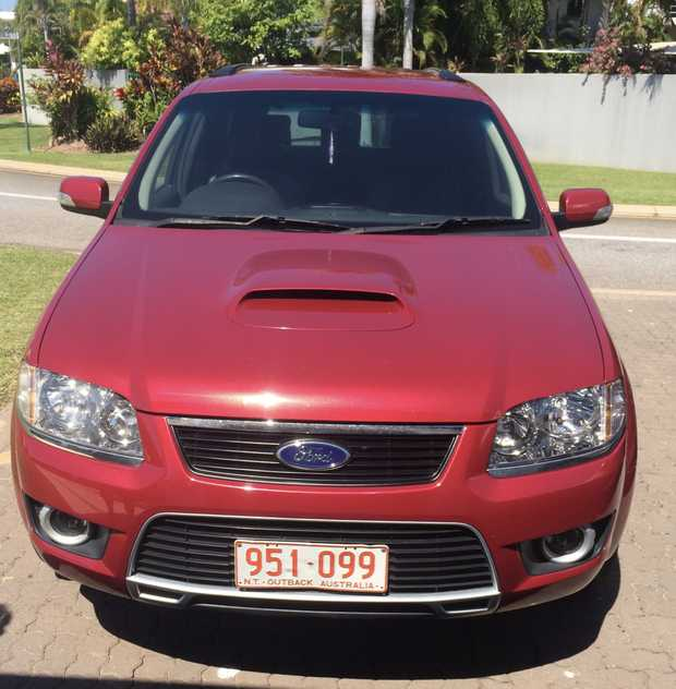 2009 Ford Territory Ghia SY MKII  